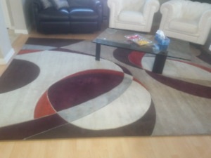 Big good quality multicolored area rug.