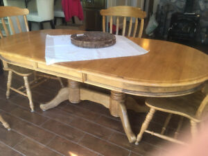Worth taking a look.  Dining Table and 6 Chairs