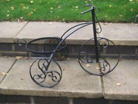 Biycle plant holder