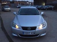 LEXUS IS 220D 2.2 SPORT DIESEL,HPI CLEAR,PARKING SENSORS,ELECTRIC&HEATED SEAT