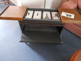 Hostess heated trolley