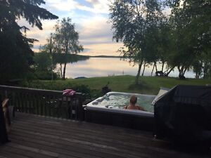 Loon Lake Sask. WATER FRONT cabin for rent with dock & boat lift