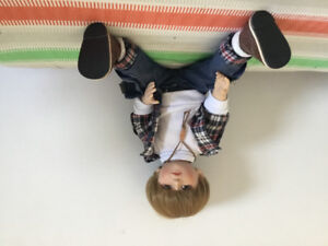 """18"""" all-movable joint boy doll"""
