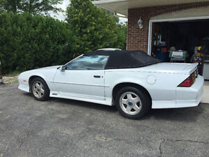 1991 Camaro RS Convertible for sale.