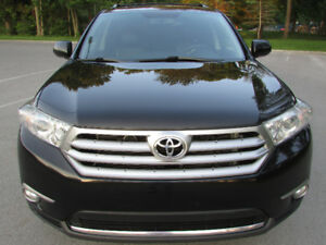 2011 TOYOTA HIGHLANDER LIMITED 4D UTILITY 4WD V6 TAXES INCLUS!!!