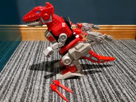 Imaginext Red Ranger & T-Rex Zord
