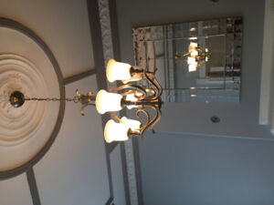 4 Chandeliers and 5 Wall Sconces set!