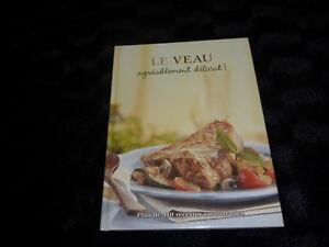 Livre de recette *Le Veau Agréablement délicat!* neuf neuf