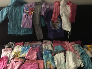 Clothes lot toddler girl size 5t 6t pants shirts jacket tops