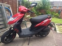Lexmoto FM50 Derestricted 50cc Moped/Scooter