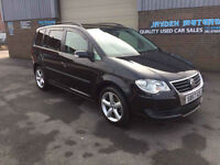 2007 57 VOLKSWAGEN 1.9 TDI S 7 SEATER TURBO DIESEL,ONLY 80000 MILES WITH