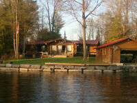 Lake Front cottage in Bobcaygeon on Beautiful Pigeon Lake