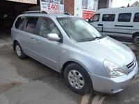 KIA SEDONA 2.9CRDi AUTOMATIC LS 7 SEAT ELECTRIC DOORS 3 MONTH WARRANTY FINANCE
