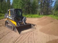 Skid steer, Bobcat, Landscaping, Excavating, Corral Cleaning