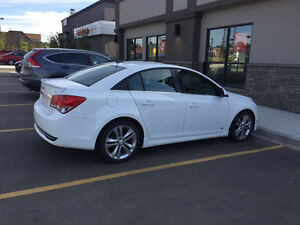 2012 Chevrolet Cruze Lt. rs Sedan