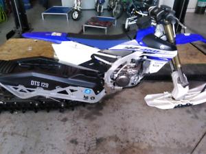 2016 Yamaha 450fx Snowbike