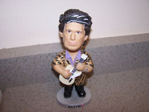 very RARE - KEITH RICHARDS - ROLLING STONES bobblehead