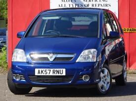 2007 Vauxhall Meriva 1.6 16 Easytronic Auto - 63,000 MILES - CAMBELT - NEW MOT