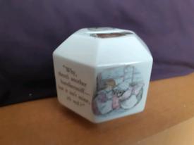 Mrs Tiggy-winkle money box