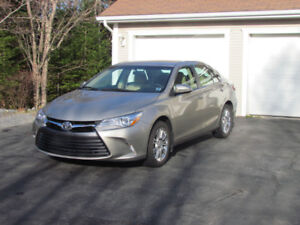 2015 Toyota Camry LE Sedan With Upgrade Package