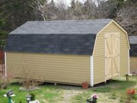 new shed 12X16