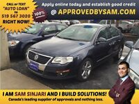 "CAR LOANS MADE EASY - PASSAT - TEXT ""AUTO LOAN"" TO 519 567 3020"