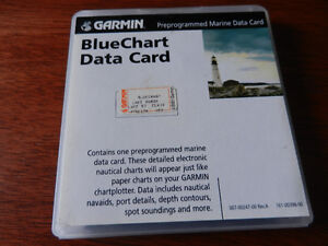 Garmin MUS017R for sale Bluechart preprogrammed data card.