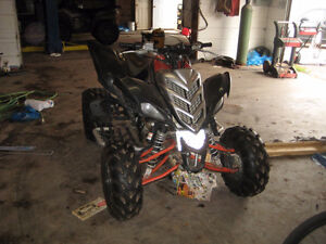 2007 YAMAHA RAPTOR SPECIAL EDITION WITH R6 MOTOR!!