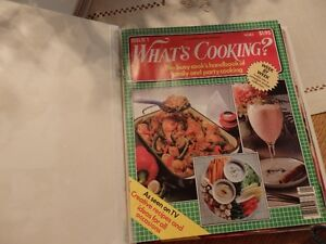 """WHAT""""S COOKING series from 1982, 1983"""