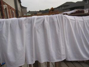 Drape, Table Skirts Pleated White Peterborough Peterborough Area image 6