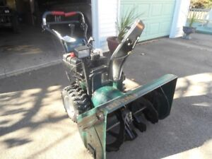 12 HP  Craftsman Snowblower for sale