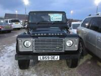 2009 Land Rover Defender 90 2.4 TDi XS 4X4 3dr
