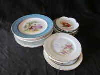 various collector plates 20 +