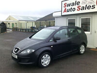 2009 SEAT ALTEA XL REFERENCE XL 1.9TDI ONLY 80,730 MILES, FULL SERVICE HISTORY