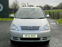 2002 TOYOTA AVENSIS VERSO 2.0 D-4D GLS WITH FTSH+11 TOYOTA STAMPS+CAMBELT DONE!