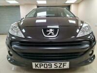 Peugeot 207 1.4 VTi Black Hatchback 58MPG WARRANTY 12 MONTHS MOT FULL SERV HIST