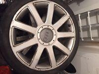 "Audi RS4 TT 18"" genuine wheels"