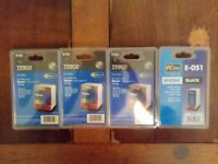 New, unopened ink cartridges to suit Epson printer