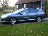 2007 Peugeot 407 SW 2.0HDi 136 auto GT