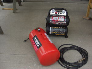 COMPRESSOR WITH TANK