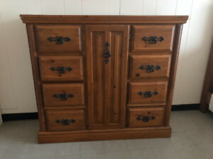 Dresser, armoire and bed side  table