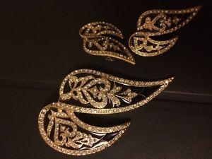 Brooch and clip earrings from Fifth Avenue Edmonton Edmonton Area image 2