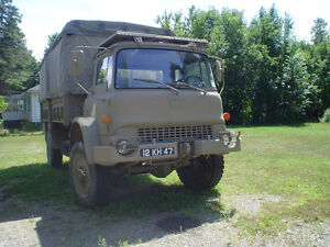 Military Militaire Bedford MJ 4x4 turbo diesel Cargo Truck