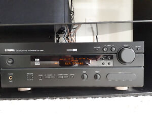Yamaha-RX-V630 6 channels home theather amp. and receiver