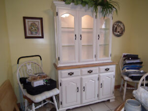 White Dining Room Suite