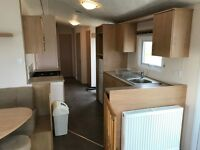 Sea View and decked Caravan for sale at Southerness