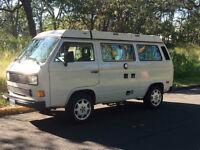 1987 Westfalia camper van, with upgrades and extras
