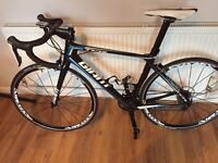 Giant TCR composite road bike size medium