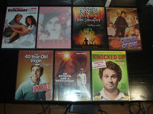 OVER 100 DVD FOR SALE, SOME TV SERIES OTHERS ARE MOVIES AT .75 West Island Greater Montréal image 6