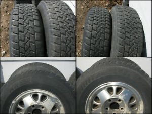 4 Arctic Claw Winter TX-i Snow Tires on Aluminum Mags
